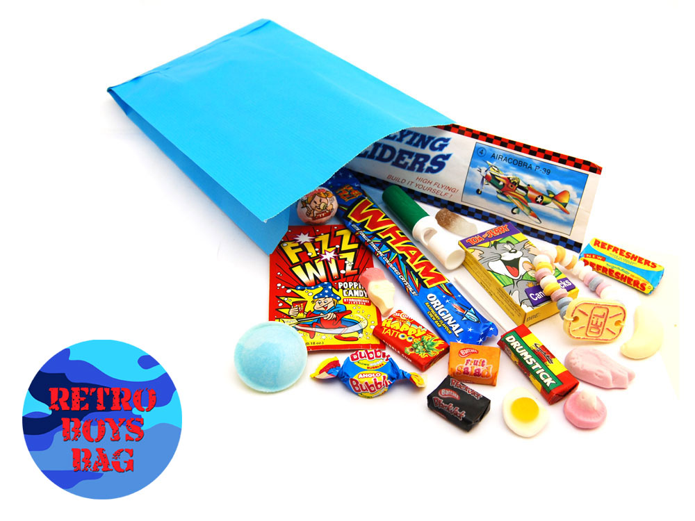 Retro Boys Party Bag | Keep It Sweet