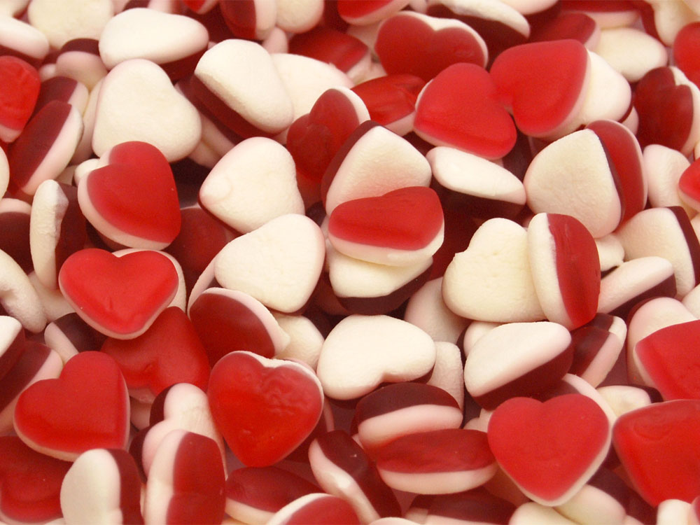 Strawberry Hearts, Heart Throbs Sweets | Keep It Sweet