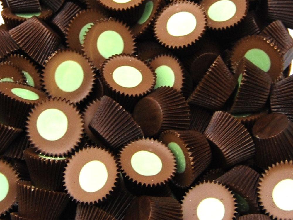 Mint Chocolate Cups Sweets Keep It Sweet