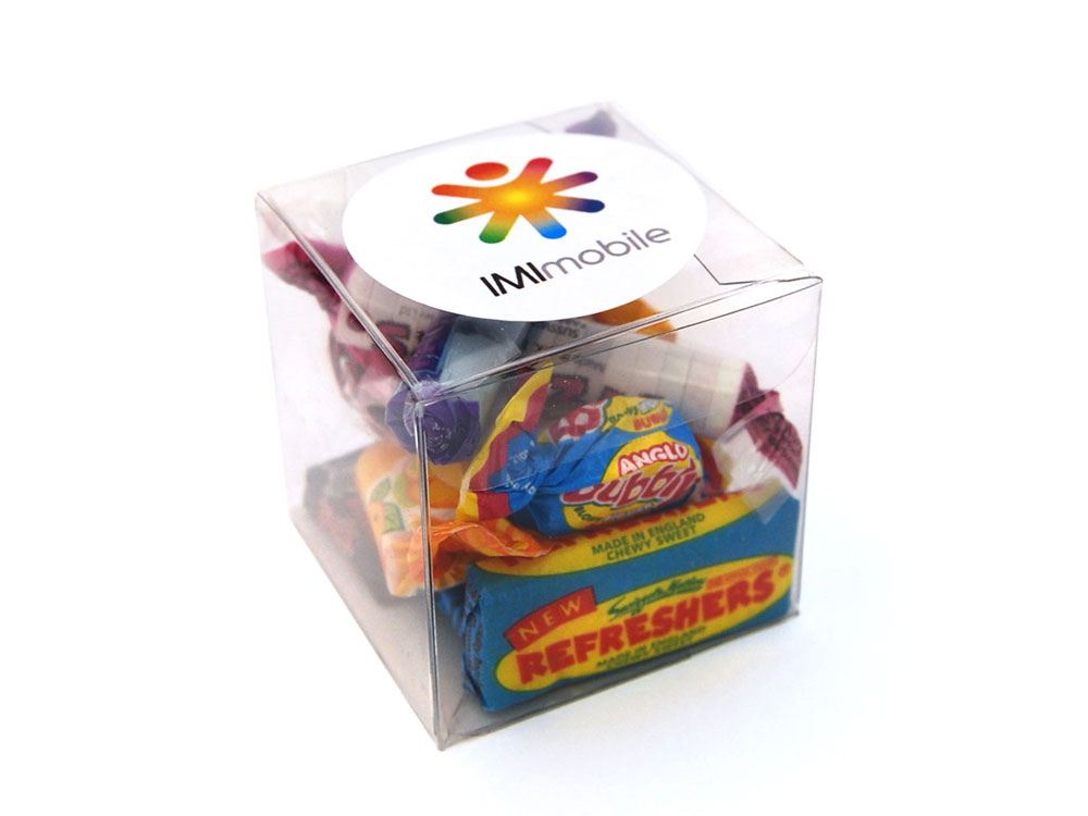 Retro Cube | Promotional Sweets | Keep It Sweet