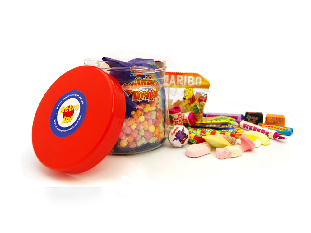 Retro Sweets Jar | Keep It Sweet