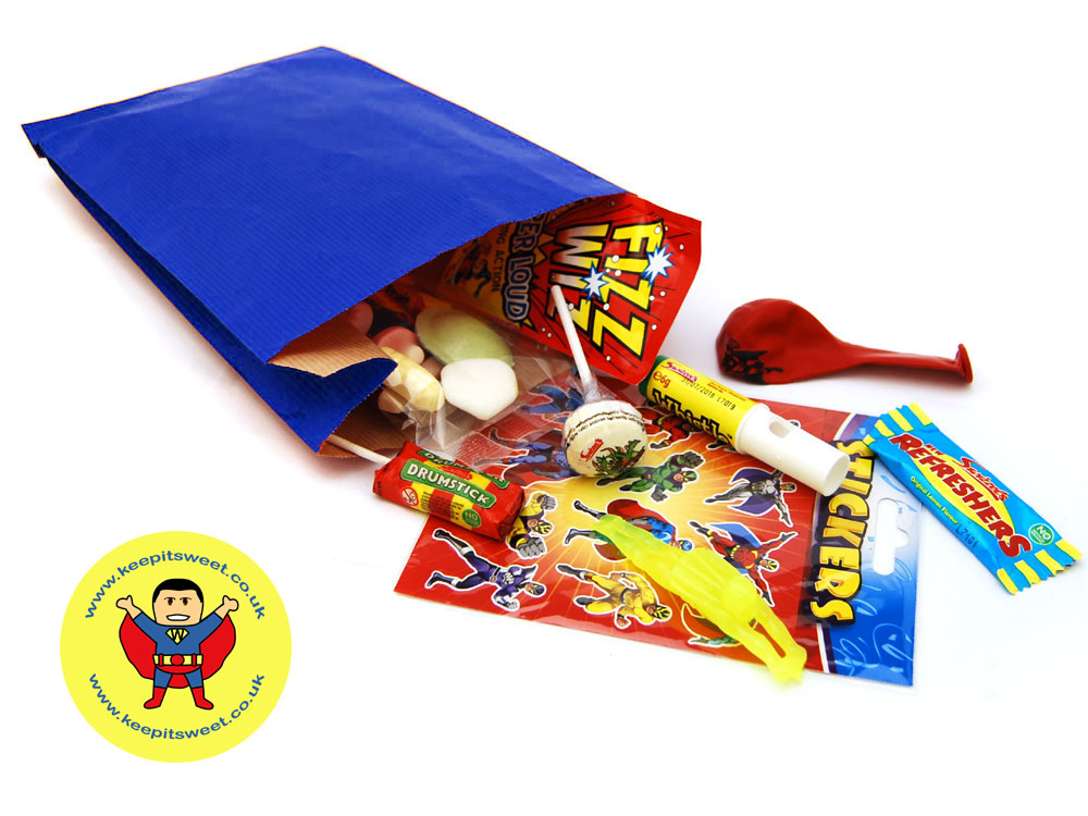 Super Hero Party Bag | Party Bags | Keep It Sweet