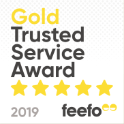 Gold Trusted Award 2019 - Feefo